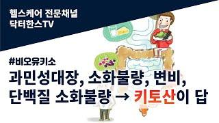 과민성 대장, 소화불량, 미소화단백질 배설, 변비, 키…
