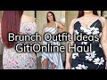 What To Wear To Brunch - GitiOnline Dress Try-On Haul | Ruby Red