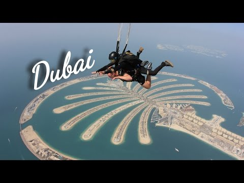 BEST THINGS TO DO IN DUBAI (Holiday) - Skydive, Burj Khalifa