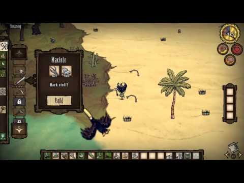 Mad Coconut Trees and Sharks! Don't Starve Shipwrecked