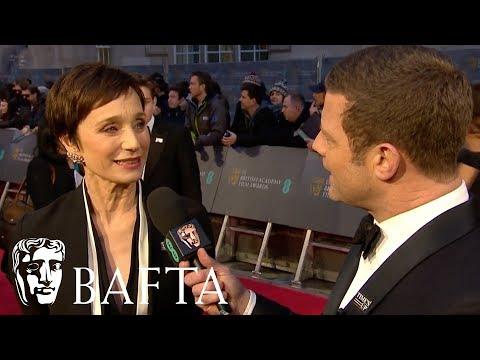 Kristin Scott Thomas Red Carpet   EE BAFTA Film Awards 2018