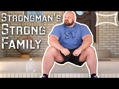 World's Strongest Man Brian Shaw — A Strongman's Strong Family