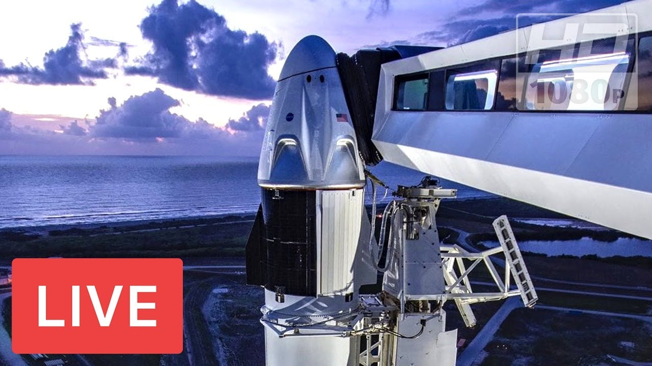 WATCH LIVE: SpaceX's 1st astronaut mission! Crew Dragon #DM2 launch from historic NASA pad @3:2