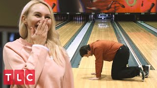 David and Lana Go Bowling! | 90 Day Fiancé: Before The 90 Days