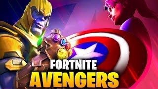 FORTNITE X AVENGERS ENDGAME EVENT LTM! - Fortnite Avengers Skins: Captain America & Iron Man..