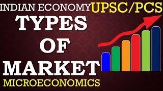 TYPES OF MARKET- ECONOMY FOR UPSC.PCS,SSC,BANKS etc