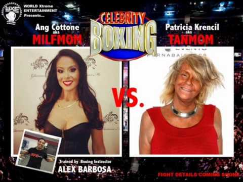 Celebrity boxing tan mom vs kayla