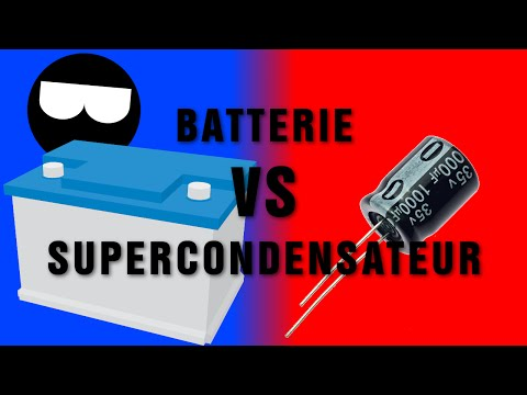 Stocker l'énergie 1/2 Batterie vs Supercondensateur