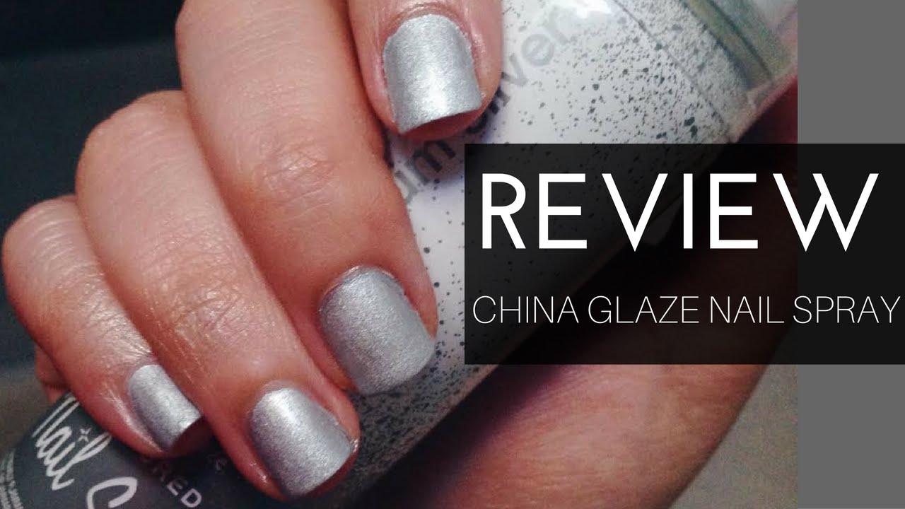 Spray on nail polish china glaze nail spray reviews - Review Demo China Glaze Nail Spray