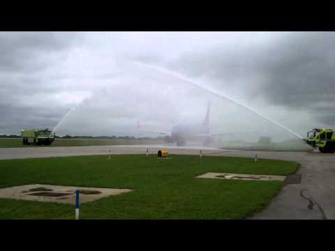 Akron-Canton Airport- Southwest Airlines Inaugural Flight