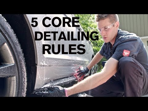 5 CORE DETAILING RULES: You Must Know! ATA 102