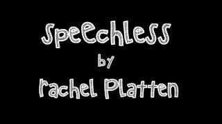 Watch Rachel Platten Speechless video