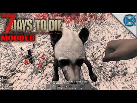 7 Days to Die Modded | Goodbye 100 Wellness | SP Let's Play 7 Days to Die Gameplay | Alpha 15 S01E01