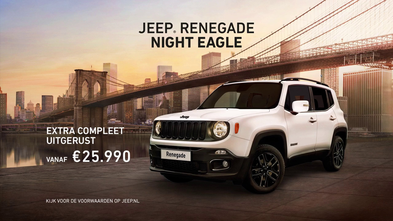Jeep Renegade Night Eagle Youtube