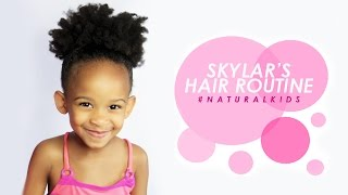 Skylar's Natural Hair Growth Routine | etcblogmag