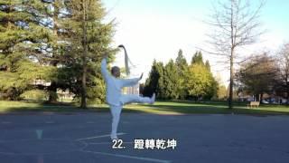 38式太極拂塵正向慢動作 (2015.04.09) Slow moving