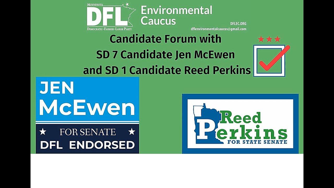 DFL Environmental Caucus Town Hall(7/29/20)