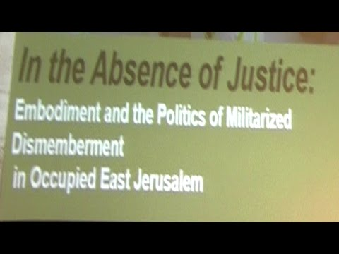 ABSENCE OF JUSTICE for women in Jerusalem,   Dr Kevorkian