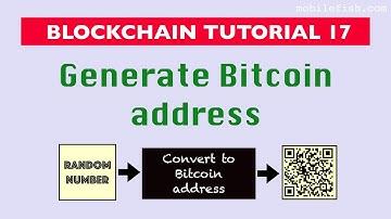 Blockchain tutorial 17: Generate Bitcoin address