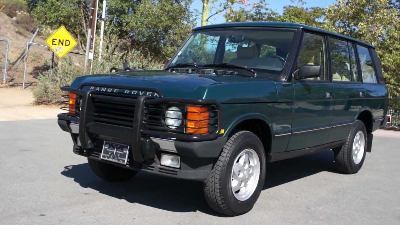 1995 range rover county lwb classic 2 owner 77k miles - youtube