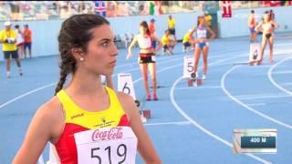 2016 Дарья Вдовиченко, 400 м, полуфинал, чемпионат Европы, юноши