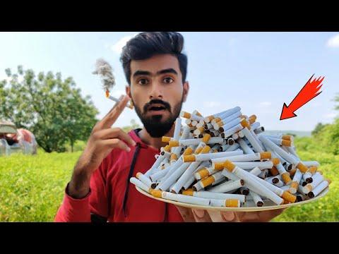 भूल कर भी मत पीना - What if You Smoke 500 Cigarettes - Dangerous Results