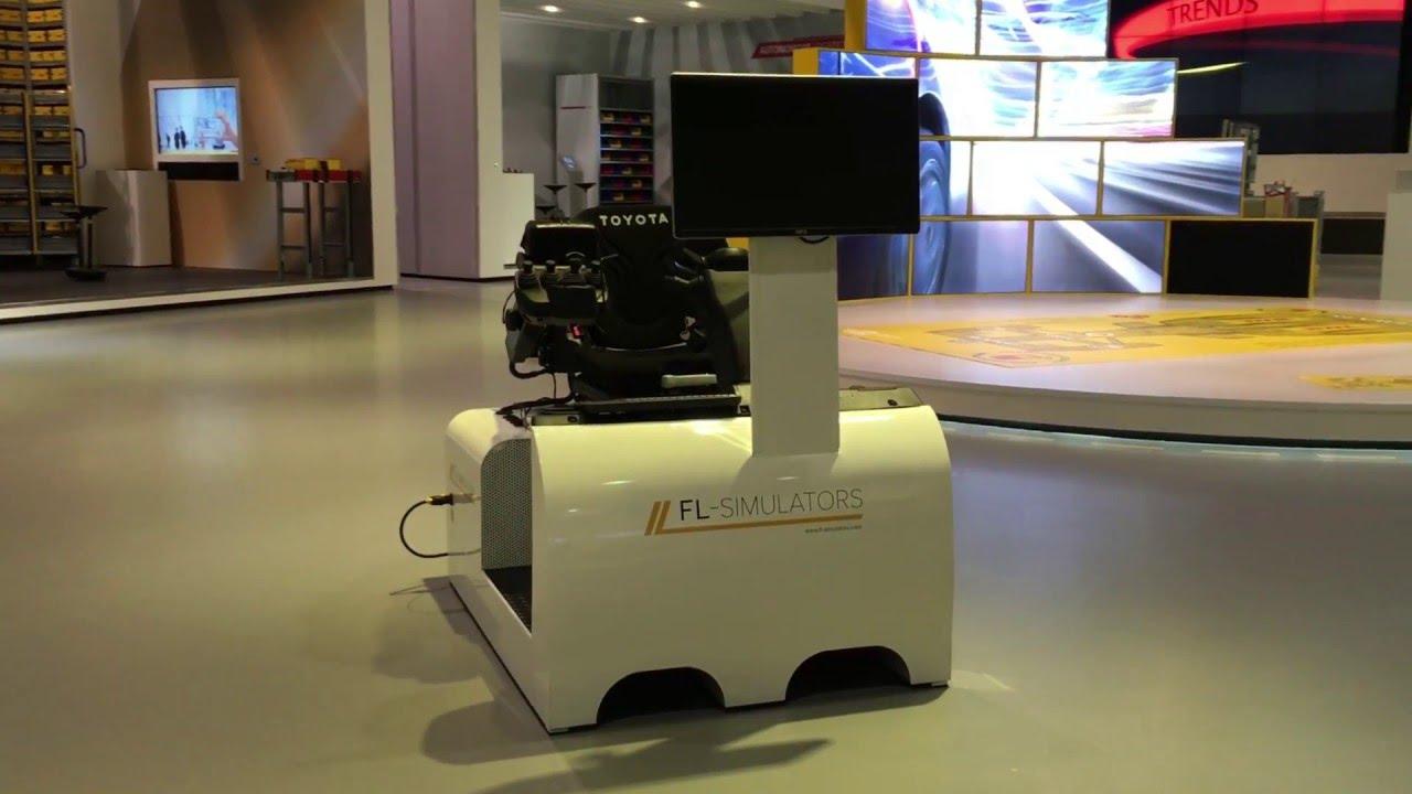 FL-Simulators DHL innovation center - Forklift Simulator ...