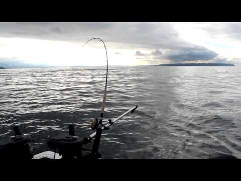 South End Of Bowen Island Trolling With Watermark Salmon Fishing Charters, Vancouver BC