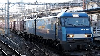 2018/01/16 JR貨物 6087レ EH200-6 大宮駅
