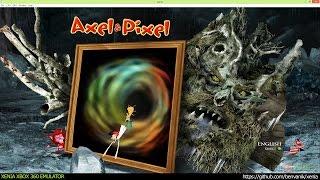 Xenia Xbox 360 Emulator - Axel & Pixel Gameplay!