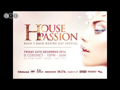 'House Passion Back 2 Back Boxing Day Special' Mixed By Shen