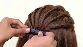 A CUTE GIRLS HAIRSTYLE || BEAUTIFUL HAIRSTYLE FOR GIRLS
