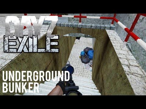 Arma 3 Exile DayZ Mod - Series 1 - Part 2 - Underground Testing Facility