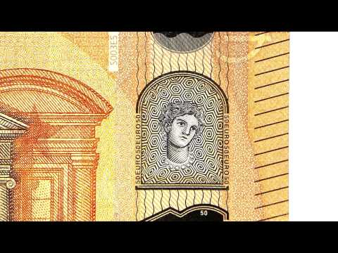 PASABAN MACHINES: The new Europa series €50 banknote