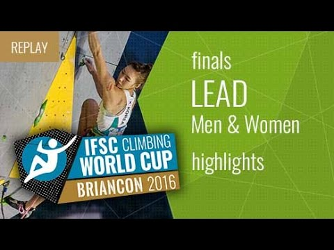 IFSC Climbing World Cup Briancon Highlights Lead Finals