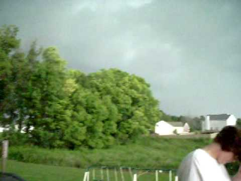 crazy storm in clarksville tennessee