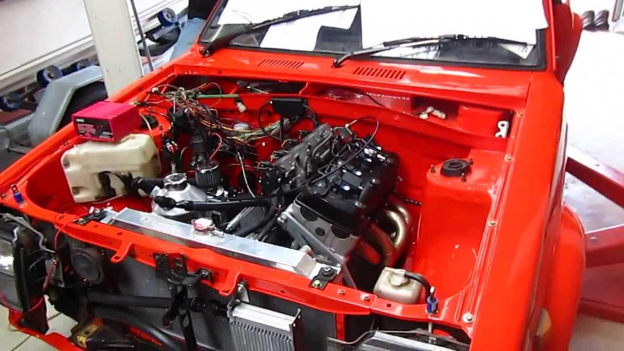 Suzuki Hayabusa Engine In Car