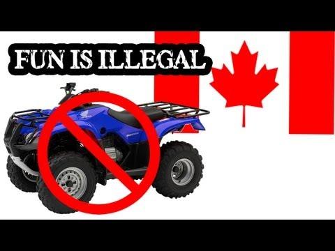 Alberta Makes Outdoor Recreation Illegal