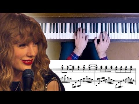 Taylor Swift - New Year's Day Advanced Piano Cover With Sheet Music