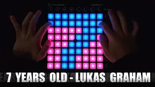 7 Years Old - Lukas Graham (T-Mass Remix) - Launchpad MK2 Cover + [Project File]