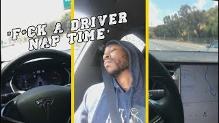 "2 Chainz ""Takes Nap Behind Wheel Of His Self-Driving Tesla"""