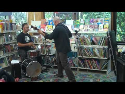 Secret Knock live at Waiheke Library for NZ Music Month