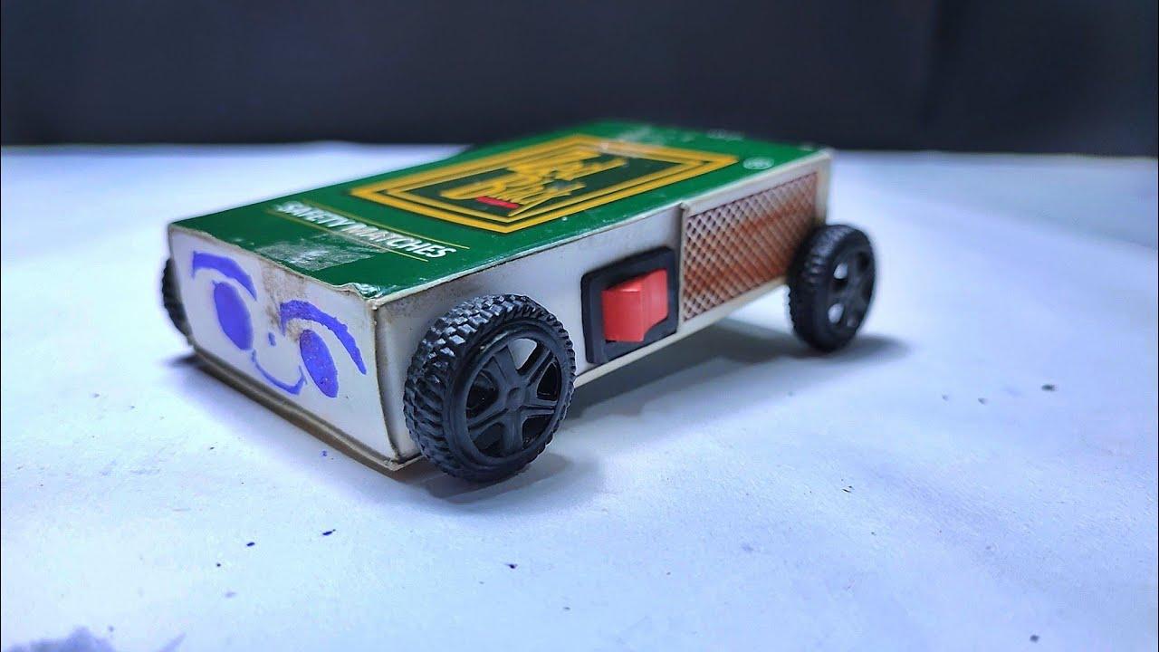 DIY Simple matchbox car  