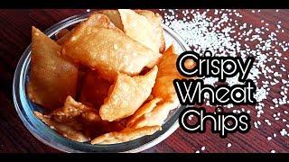 Easy Diwali Snack Recipe / Wheat Chips