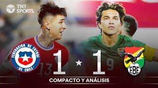 CHILE 1 - 1 BOLIVIA | Clasificatorias Qatar 2022 | RESUMEN Y GOLES