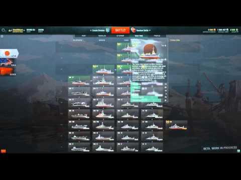 World of Warships - Techtree explaned