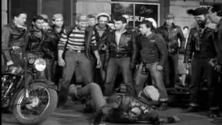Fight from THE WILD ONE (1953)