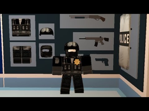 Roblox Neighborhood Of Robloxia How To Get Swat Uniform Youtube