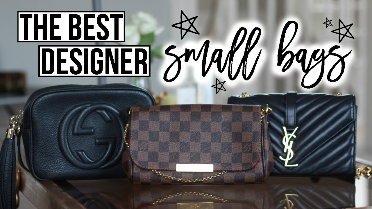 8bfe849d56bb MINI BAG REVIEW & COMPARISON | GUCCI SOHO DISCO, LOUIS VUITTON FAVOURITE,  YSL SMALL MONOGRAM