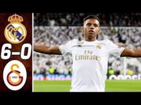 LIGUE DES CHAMPIONS – REAL MADRID 6-0 GALATASARAY Match FULLHIGHLIGHT,